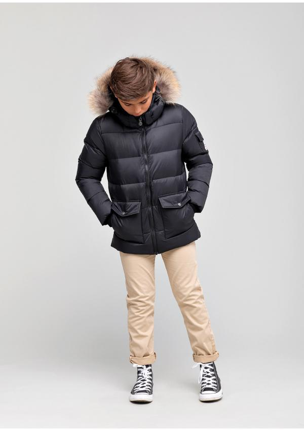 Authentic boy down jacket