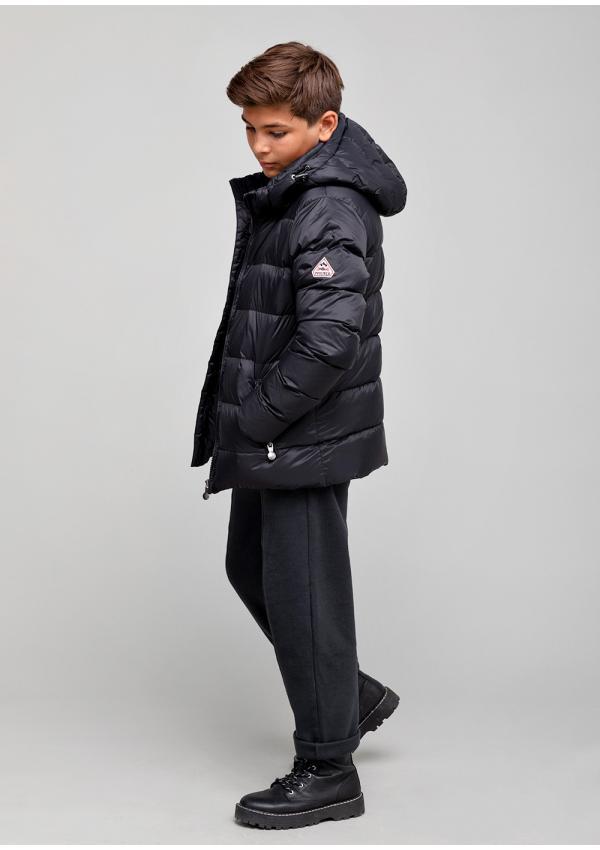 Spoutnic boy down jacket