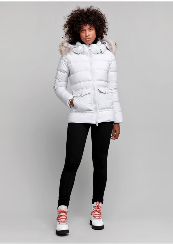 Authentic soft down jacket