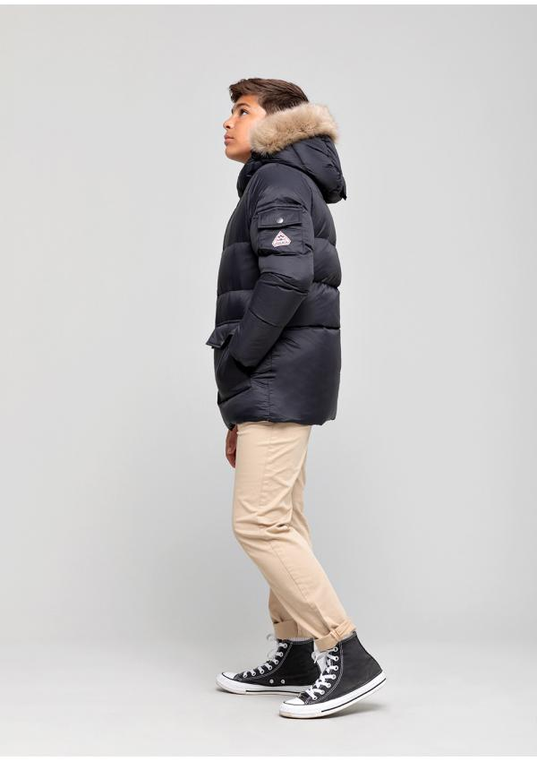 Authentic boy down jacket...