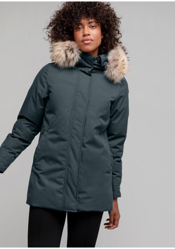 Bordeaux down parka