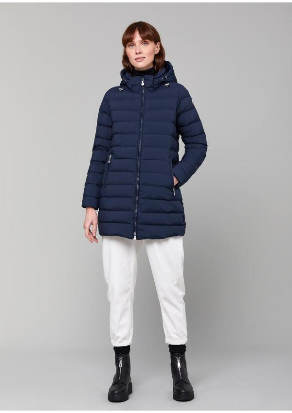 Spoutnic long down jacket