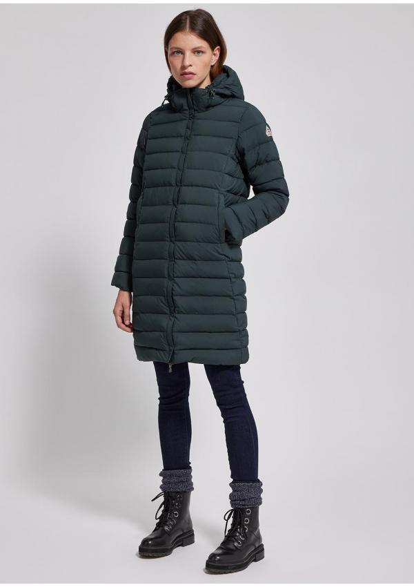Spoutnic long down jacket