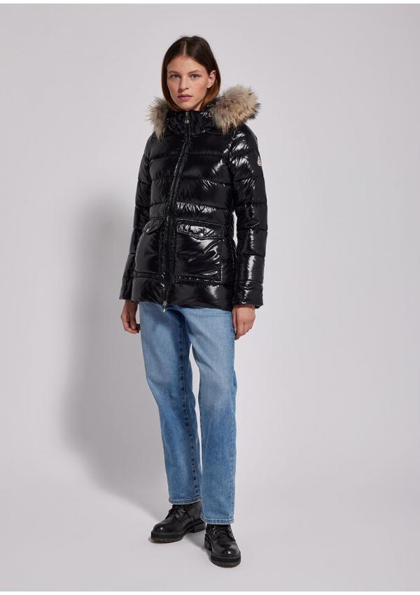 Authentic shiny down jacket