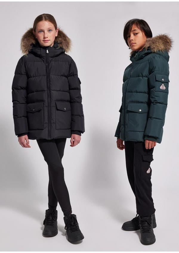 Authentic kids down jacket