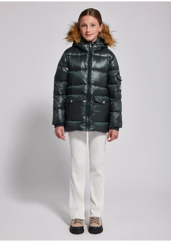Authentic girl down jacket...