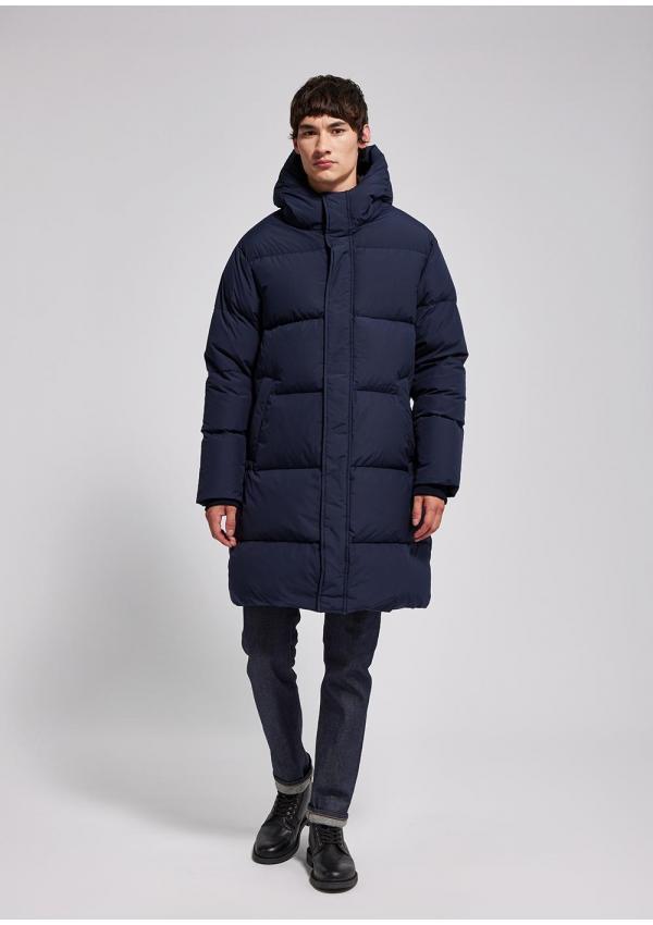 Gilen men long down coat