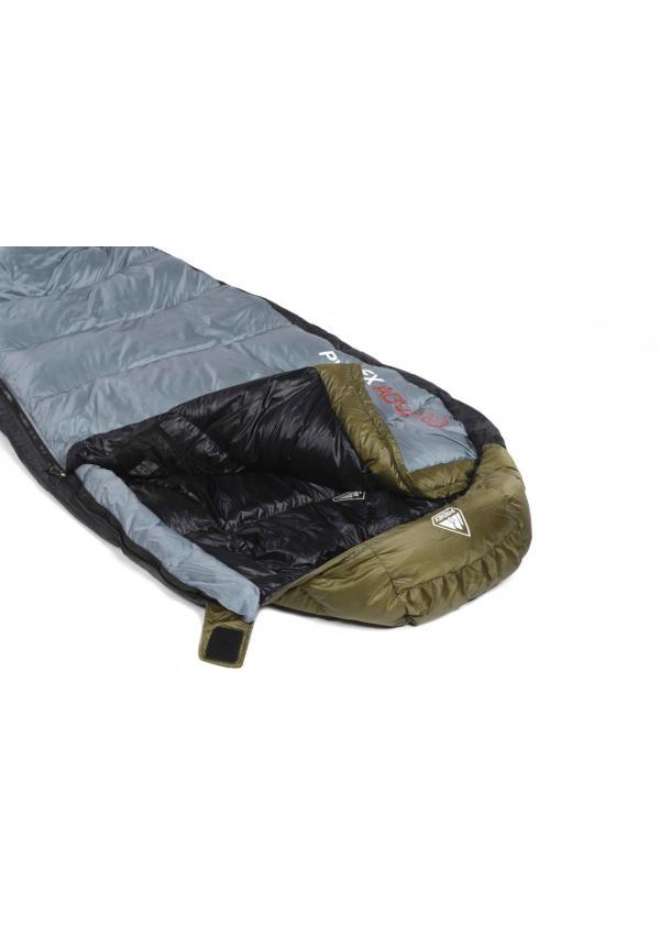 Sleeping Bag Ladakh 600 Left Closing Khaki / Grey