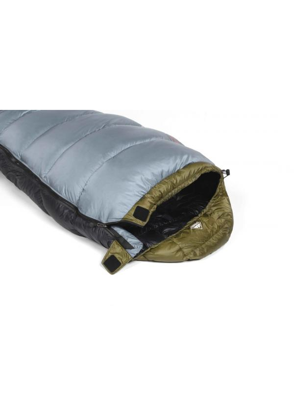 Sleeping bag Ladakh 900 Left Closing Khaki / Grey
