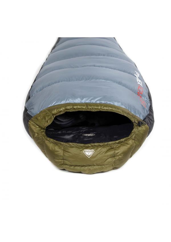 Sleeping Bag Ladakh 1600 Right Closing Khaki / Grey