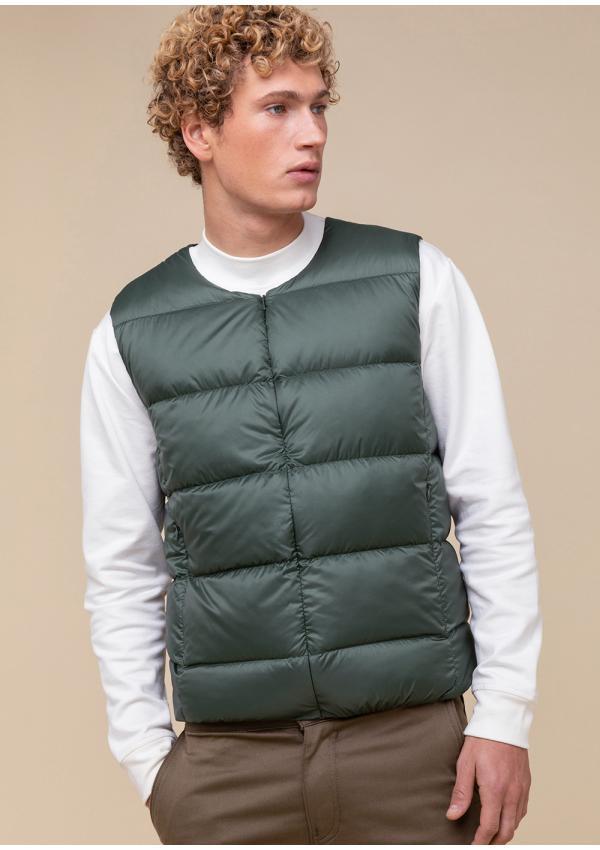 Bird down vest