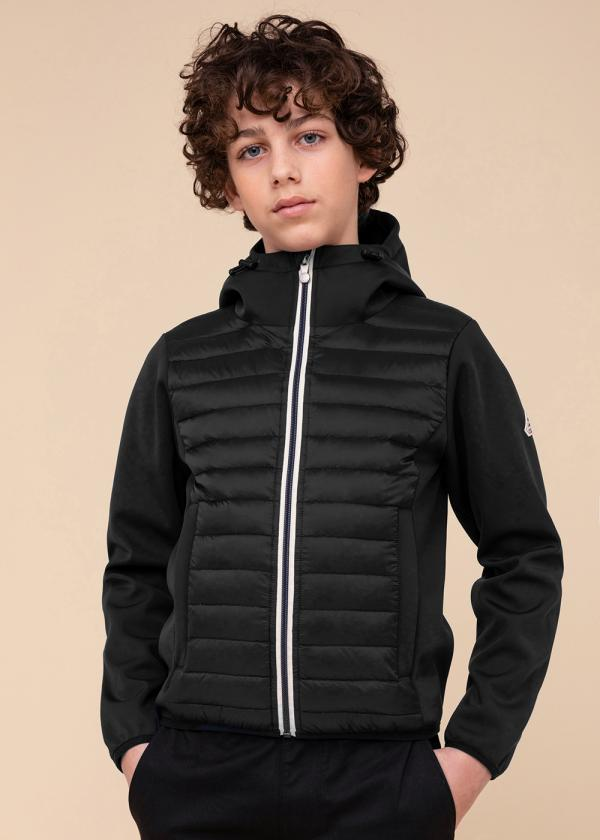 Ashton kid hybrid jacket