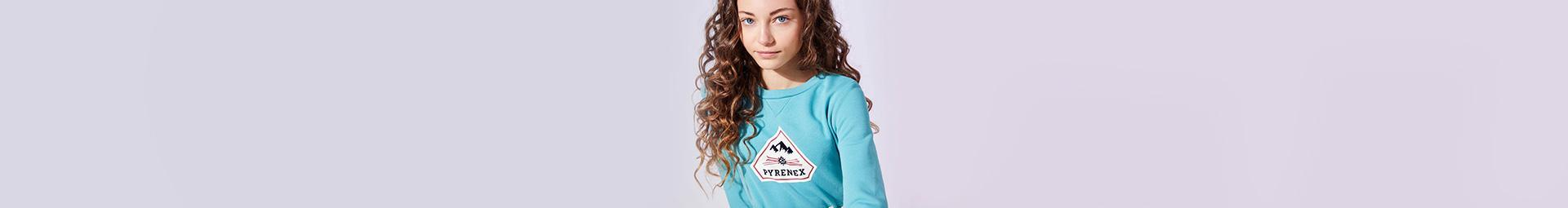 Premium t-shirts and pullovers for kids | Pyrenex official website