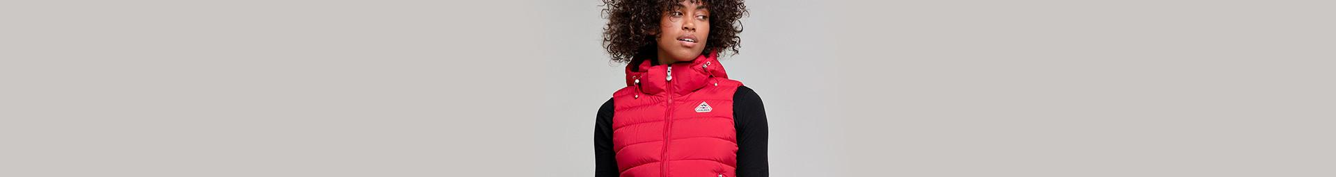 Women's mid-season down sleeveless down jackets - Pyrenex