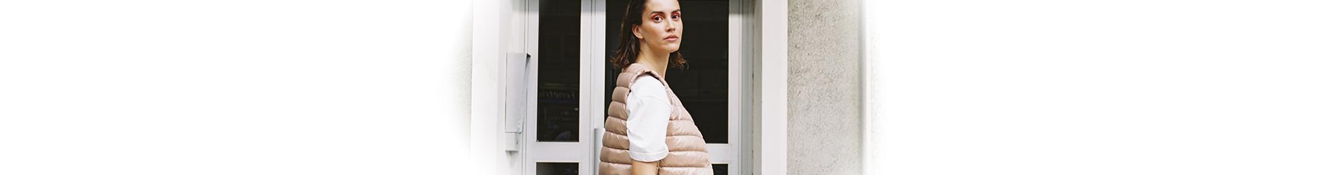Women's mid-season down sleeveless down jackets - Pyrenex