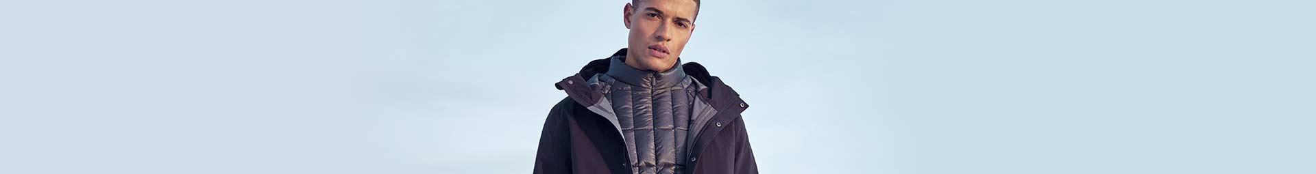 Men's clothing collection Pyrenex : trendy Down Jackets, Parkas and Windbreakers for men.