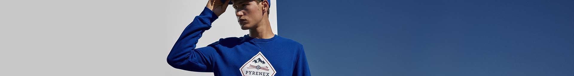Mailles homme. T-shirts, pullovers, pulls pour un look décontracté. Pyrenex