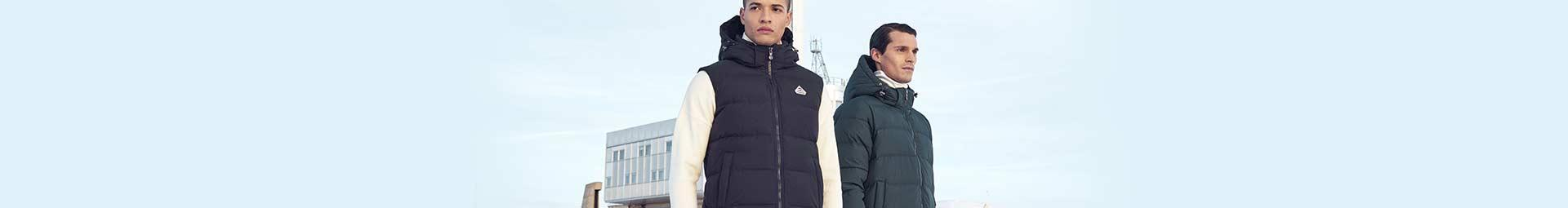 Mens down vests & sleeveless down jackets for mid season | Pyrenex