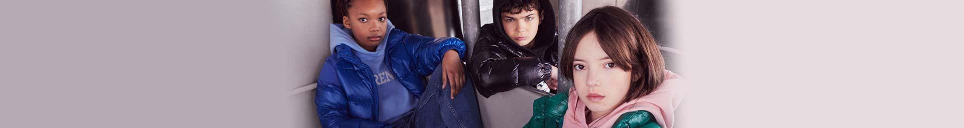 Collection mode enfant Pyrenex : Doudounes, Parkas et Coupe-vent pour enfants, fille ou garçon.