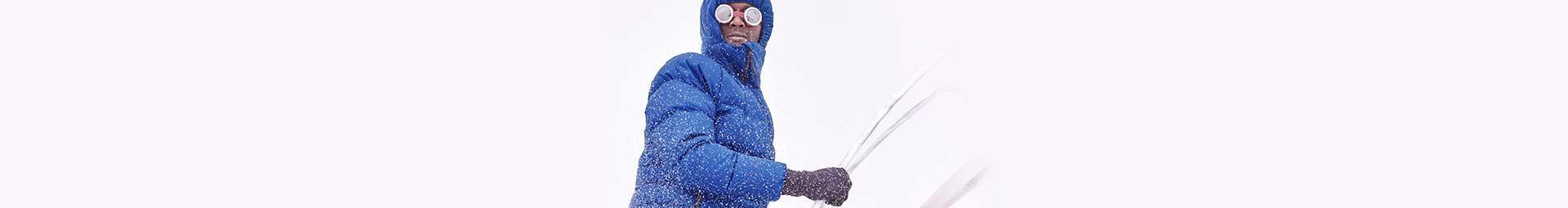 Vêtement pour la montagne Pyrenex. Doudounes et sac à couchage en duvet.