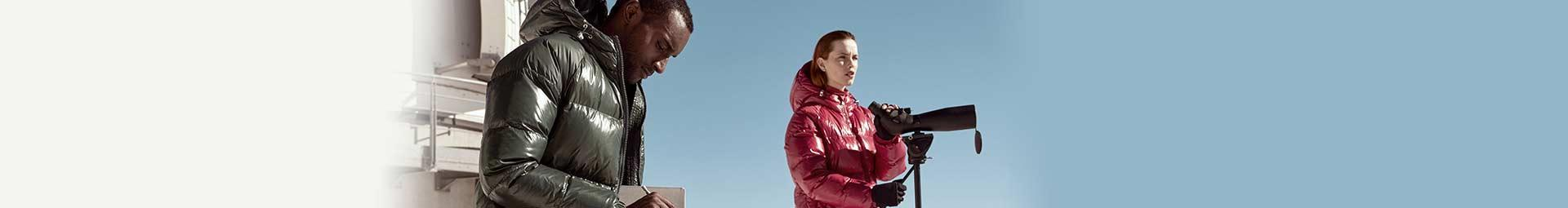 Warm down filled down jackets for man, woman and child - Pyrenex