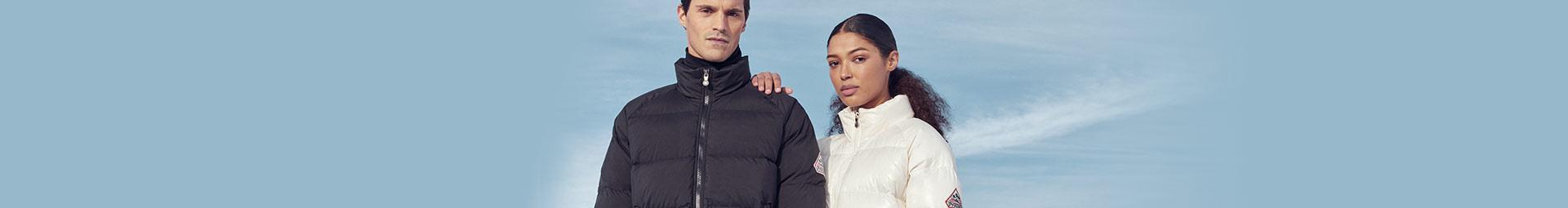 Pyrenex vêtements : Doudounes en duvet, doudounes homme, femmes et enfants, veste Parka et Coupe vent.