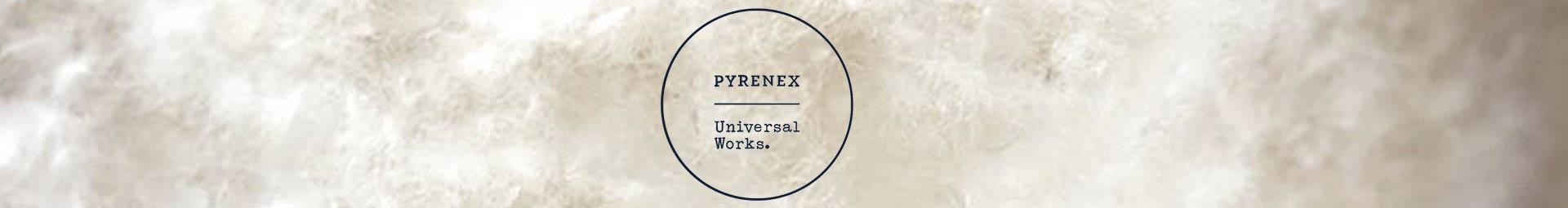 Exclusive edition warm men down jackets and vests | Pyrenex x Universal Works
