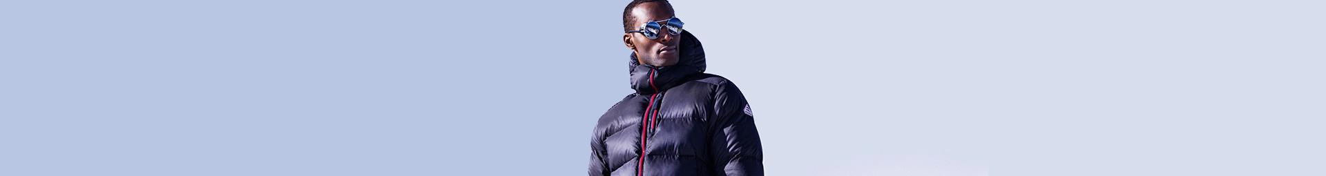 Pyrenex veste de ski homme résistante grand froid en montagne et ville