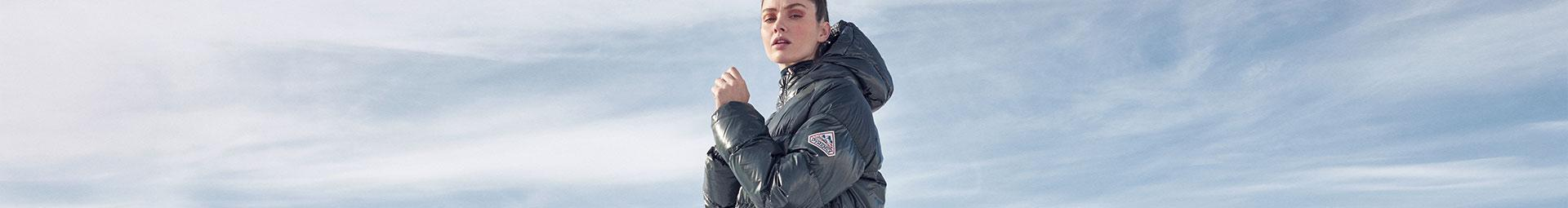 Pyrenex womens down jackets & vests | Natural down filling