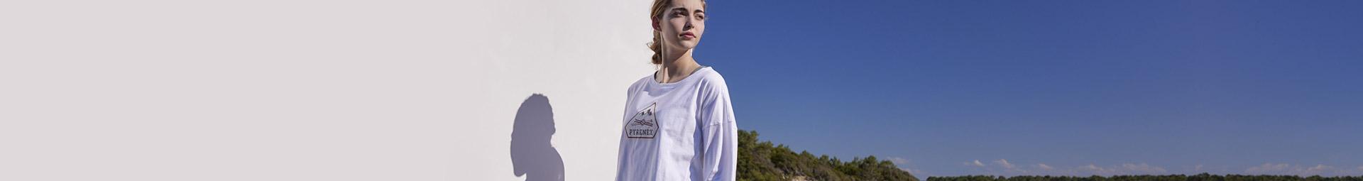 T-shirts et pullovers femme pour un style décontracté - Pyrenex