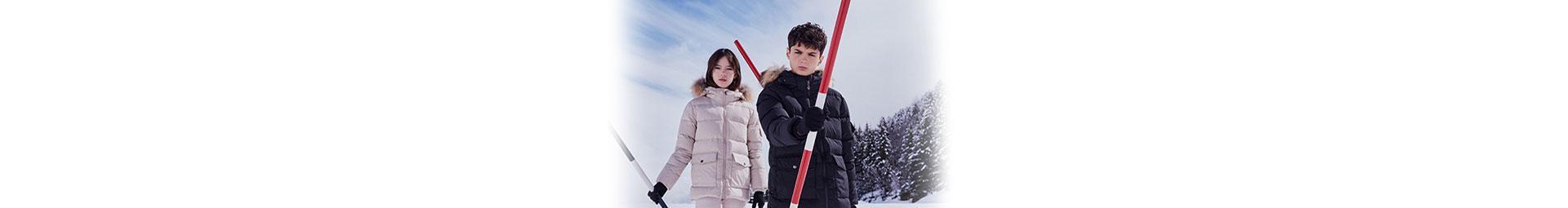 Doudounes Pyrenex pour Enfants | Duvet naturel, protection froid