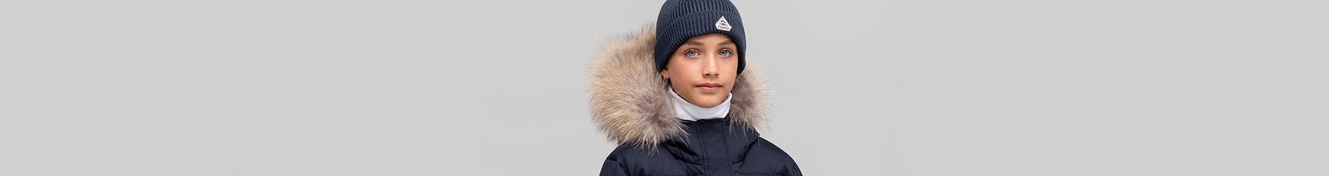 Pyrenex bonnet enfant tout doux et chaud en hiver