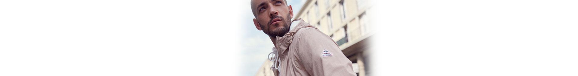 Pyrenex collection homme printemps été 2020 : veste de mi saison, t-shirt, accessoires