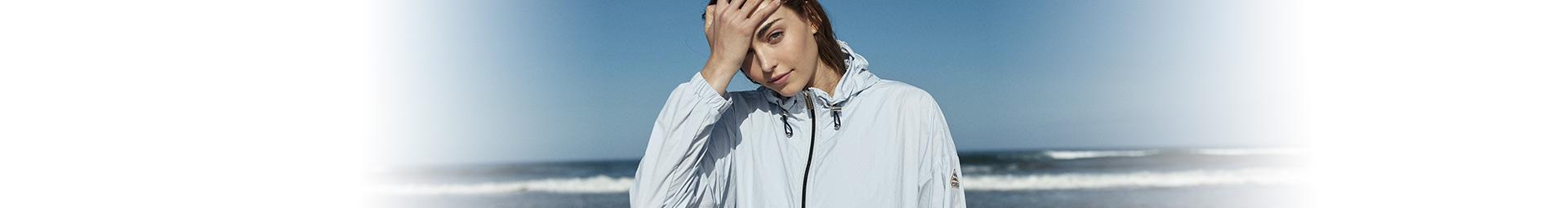 Women spring-summer bombers, windbreakers and down jackets | Pyrenex