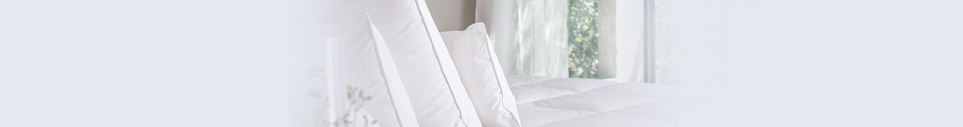 Oreiller ferme en plumettes et duvet naturel Français, oreiller ferme pour dormeur sur le coté - Pyrenex