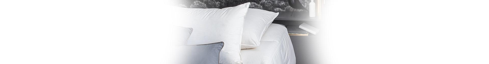 Soft Pillow with natural French down filling, Soft pillows made in France - Pyrenex