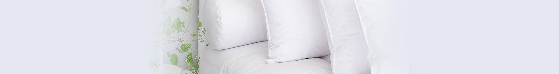Oreillers ergonomique en duvet de canard argenté Français, Oreillers ergonomiques pour tous les dormeurs - Pyrenex