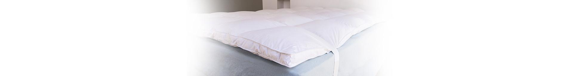 Medium firmness mattress toppers, made in France | Pyrenex