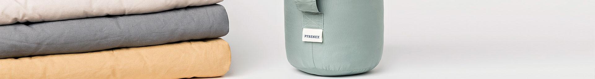 Plaids cocooning en duvet naturel 100% Français, Plaids confectionnés à la commande - Pyrenex