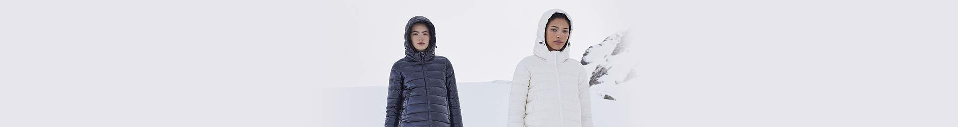 Collection automne hiver pour Femme : doudoune et parka pour être au chaud