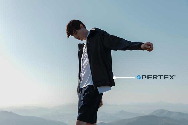 Pertex windbreakers Pyrenex