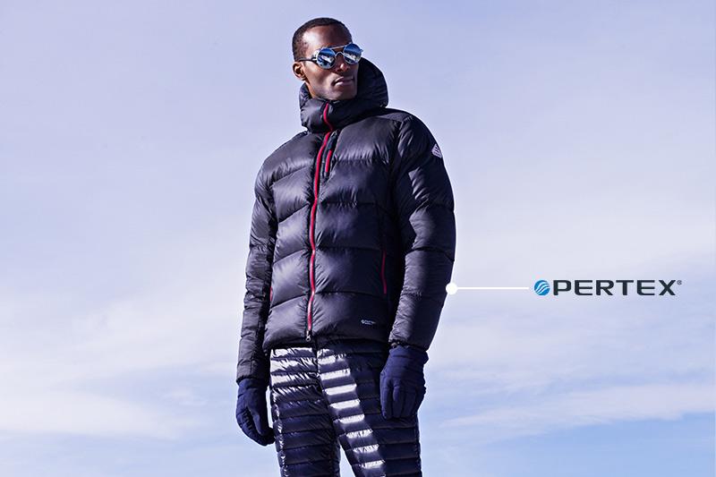 Pertex down jackets Pyrenex