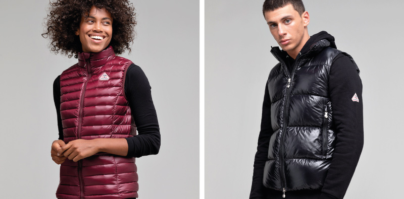 Sleeveless down jackets Pyrenex