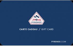 Carte Cadeau Pyrenex Brand