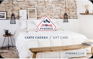 Carte Cadeau Pyrenex Literie